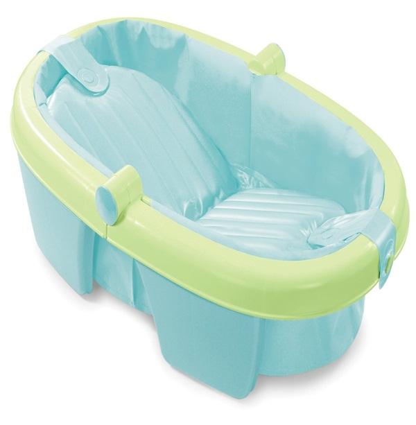 Ba era para beb plegable azul mimo en cangurus bogot for Banera plastico bebe