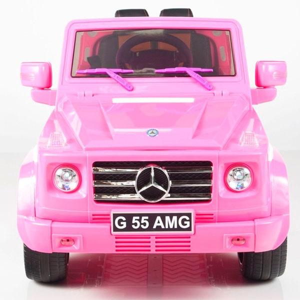 2d8a88652 Carro Electrico Todo terreno Mercedes Benz G55 Control Remoto-llanta-en-goma