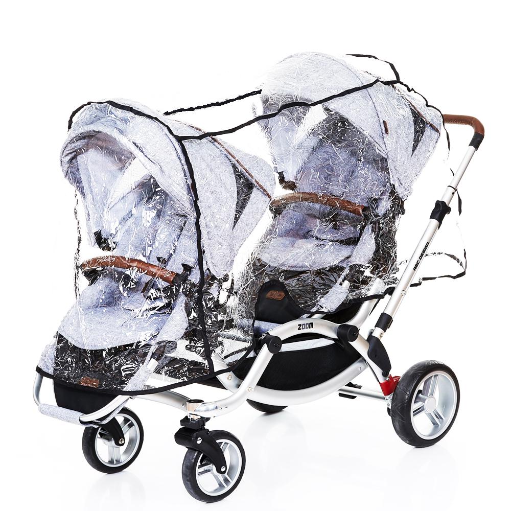 470d8a95f plastico llivia gemelos. coche gemelar lineal forro lluvia para bebe